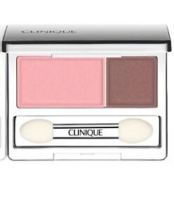 Clinique All About Eye Shadow Duo - Strawberry Fudge 14 - New In Box
