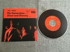 The Who   CD Single My Generation / Shout and Shimmy  Card Sleeve
