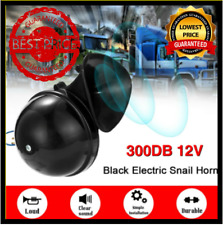 Universal Loud Snail Air Horn Siren 300dB DC 12V For Motorcycle Car Truck Boat