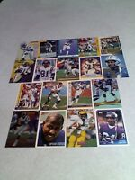 *****Anthony Carter*****  Lot of 85+ cards.....50 DIFFERENT / Football