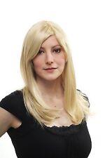 Blonde Damenperücke Wig Seitenscheiten gesträhnt lang Haarersatz 50 cm 3120-611