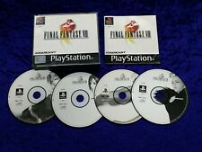 ps1 FINAL FANTASY VIII 8 Boxed COMPLETE Game Playstation PAL ps2 ps3