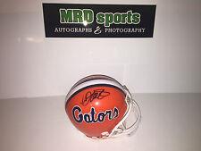 Jarrad Davis Marcus Maye Florida Gators Hand Signed Mini Football Helmet
