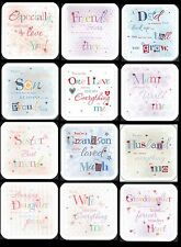 Beautiful Quality cards, From the WRITTEN WITH LOVE Collection, Great Selection