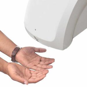 Bathroom Kitchen Infared Sensor Hand Dryer Hand Quick Drying White 1800W/220V