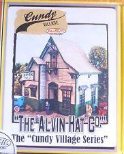 "Bar Mills #1040 (HO Scale) Alvin Hat Company -- Laser-Cut Wood Kit - 3-1/2 x 4"""