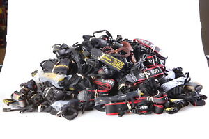 Lot of Assorted Camera Straps Sony, Nikon, Canon and more