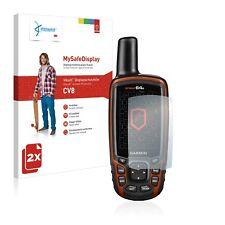 2x Vikuiti Schutzfolie CV8 von 3M für Garmin GPSMAP 64s Displayschutz