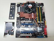 Asus P5E Deluxe REV 2.00G + Core2Quad Q9450 + 2GB + I/O Shield + MORE TESTED