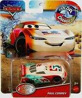 RARE Disney Pixar Cars Color Changing ( 2-in-1 ) Paul Conrev Car Mattel RARE HTF
