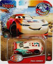 RARE Disney Pixar Cars Color Changing ( 2-in-1 ) Paul Conrev Car Mattel RARE HTF