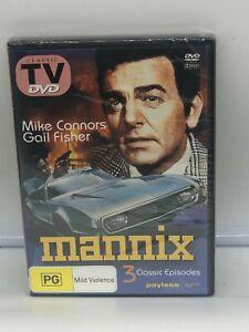 Mannix DVD Brand New Sealed Region 4