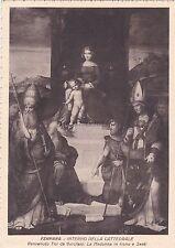 FERRARA - Interno della Cattedrale - Benvenuto Tisi: Madonna in Trono e Santi