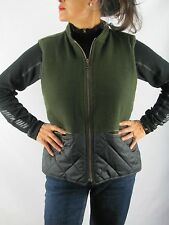 Hunting Woolrich DK Loden Reversible Wool Vest, Size Women's S-Men's S