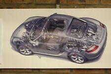 PORSCHE Cayman S PVC grande lavoro Negozio Banner Garage CAR SHOW Banner