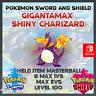 Gigantamax Shiny Charizard | Pokemon Sword & Shield | 6IVS | Level 100