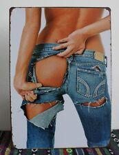 20*30cm Metal Plaque Sexy Poster Metal Tin Sign Painting Cafe Bar Pub Wall Decor