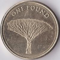 GIBRALTAR £1 One Pound The Dragon Tree Circulated Coin
