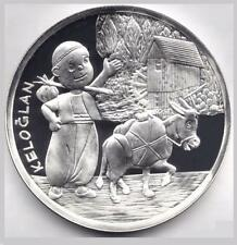 TURKEY 50 TL 2009 SILVER 925.CHILDRENs STORY CHARACTER ''KELOGLAN''COMM.COIN UNC
