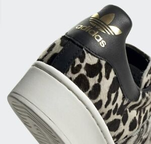 Adidas Superstar Bold Animal Print Womens Trainers Size 10