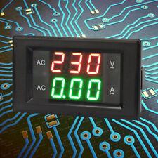 Yb4835va Digital Dual Display Ac 500v50a Led Ampere Voltage Meter Voltmeter Us