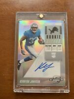 2018 Optic Contenders Rookie Ticket Silver Auto Kerryon Johnson Lions