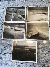 1940s Photo lot Ice Breaker Boat/ Merchant Ships Great Lakes Canada? Shipping