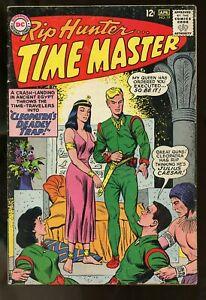 RIP HUNTER TIME MASTER #19 VERY GOOD 4.0 1964 DC COMICS