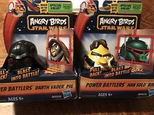 Angry Birds Star Wars Power Battlers Solo Vader Executive Action Stress Toy
