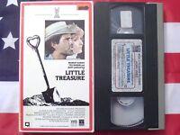 Little Treasure (VHS, 1985) Margot Kidder, Ted Danson, Burt Lancaster, Rare