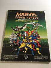 Marvel Super Heroes - Children Of The Atom - Guidebook - Used