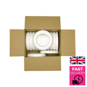 Polystyrene Ring 250mm Arts Sweets Various Quantities - UK Seller FAST&FREE POST