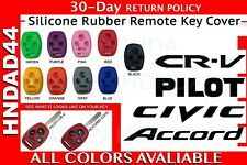 Silicone Rubber Honda Remote Cover - 3 Button Key With Panic (44)