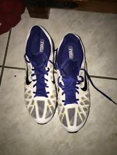 Nike Air Max 2011 Mens Sz 12 White And Blue Used