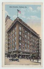 Wb Cornelius Hotel, Portland Or 1920s Oregon