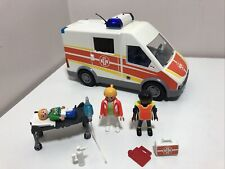 PLAYMOBIL 6685 City Life Ambulance With Lights and Sound Playset