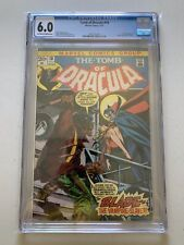 Tomb of Dracula # 10 CGC Graded 6.0 First appearance of BLADE