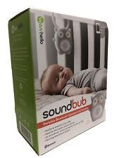 WavHello Soundbub Owl Portable Bluetooth Speaker & Soother - New Open Box