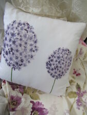 Gorgeous Nettex 'BLOOM' Lilac Hydrangea Floral Cushion Cover CLEARANCE SALE