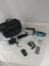 New ListingSamsung Scl906 Hi8 8Mm Camcorder Vcr Video Player Tested Working -No Battery