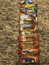 2017 HOT WHEELS EASTER SET COMPLETE OF 6 NEW