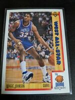 1991-92 Upper Deck Magic Johnson  #464 All Star Los Angeles Lakers