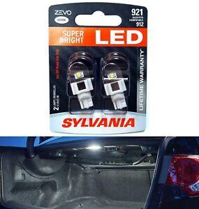 Sylvania ZEVO LED Light 921 White 6000K Two Bulbs Interior Cargo Trunk Replace