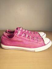 Pink Glitter Converse lo-tops/bombas Size UK 5