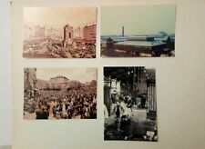 30 Carte postale Série exceptionnelle sur la fin des Halles de Paris Baltard