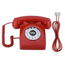 Vintage Antique Telephone Numbers Storage Rotary Home Dial Retro Landline Phone