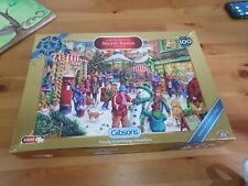Gibsons Limited Edition Secret Santa jigsaw puzzles 1000 pieces
