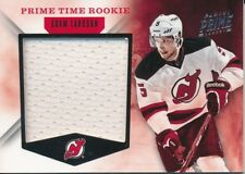 2011/12 Panini Prime #17 Adam Larsson Prime Time Rookie Jersey Insert (44/99)