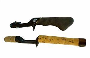 Fenwick Fishing Rod Handle pair lot Cork HMX spinning heavy ice grip fly casting