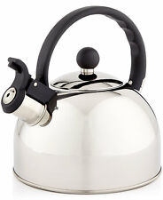 NEW Tools of the Trade 1.5-Qt. Brushed Stainless Steel Tea Kettle